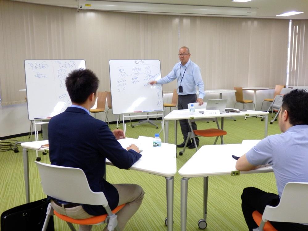 代表吉田の情熱講義です!