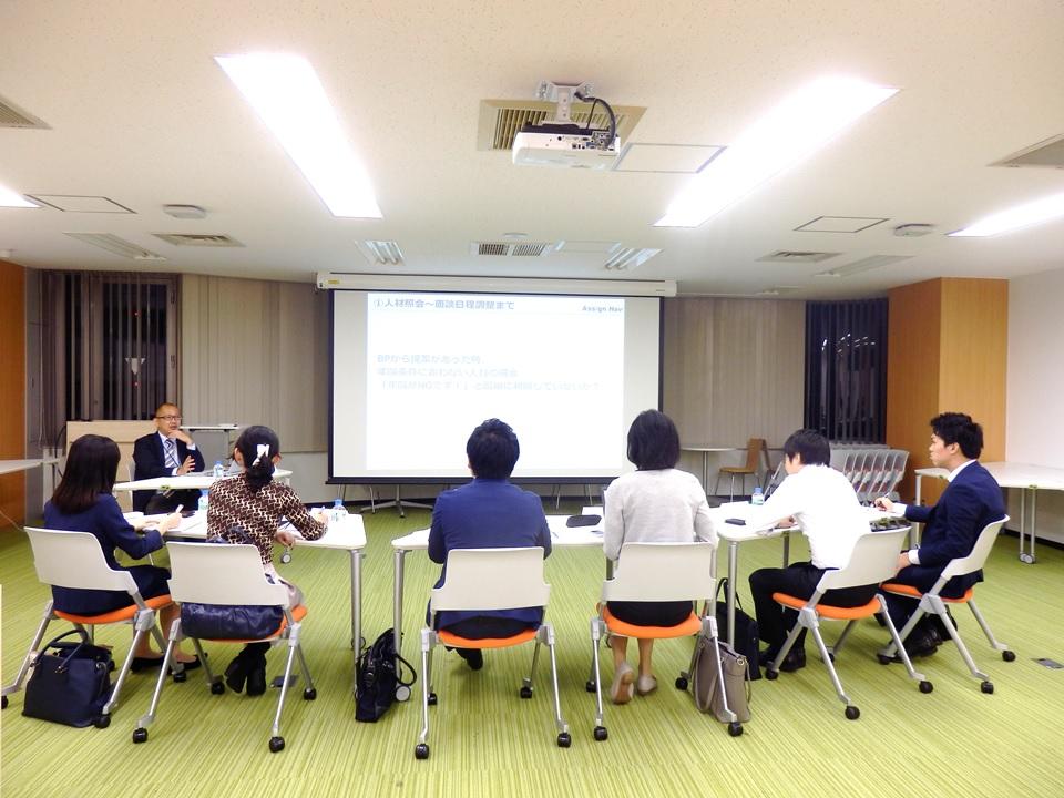 吉田のトラブル体験談を交えながら、研修は進みます。