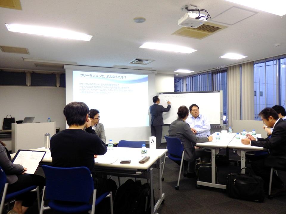 ワークショプ形式で、参加者同士の対話が重視されたセミナーでした。